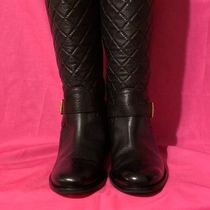 """""""Kate Spade"""" Quilted tall Boots"""